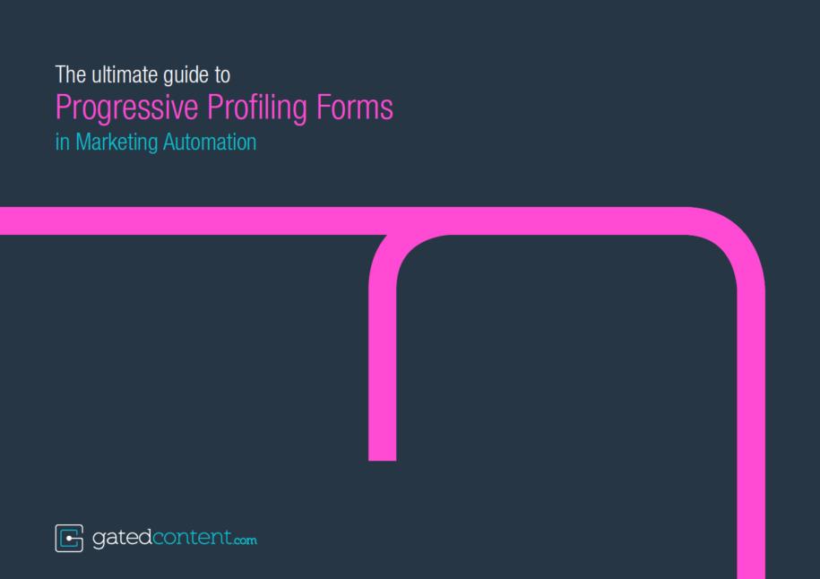 Progressive Profiling Guide