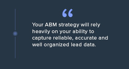 Account Based Marketing Blog Quote